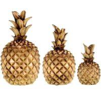 دکوری طرح آناناس 3 عددی